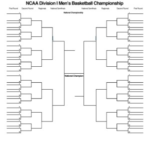 Oh look there is a bracket; now I am a basketball fan!
