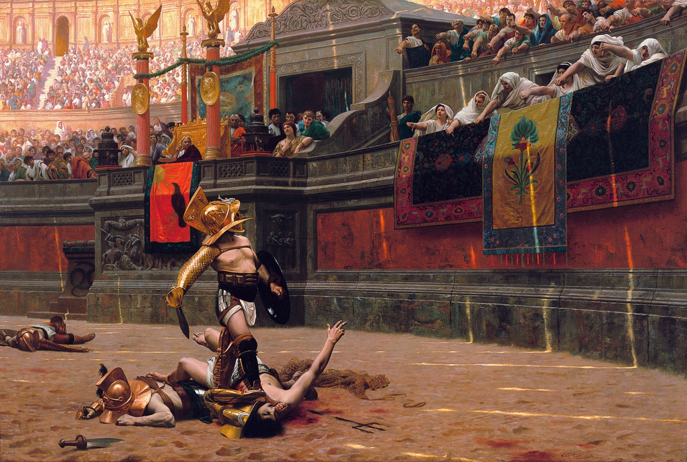 Pollice Verso, by Jean-Léon Gérôme this blog needs sports