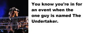 undertaker this blog needs sports