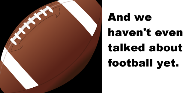 football this blog needs sports