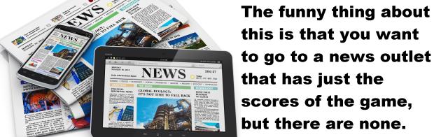 score this blog needs sports